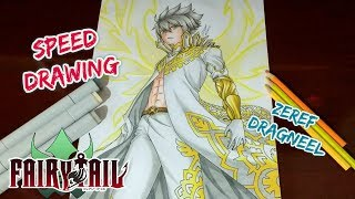 Speed Drawing - Zeref Dragneel (Fairy Tail: Chapter 532 / 533)