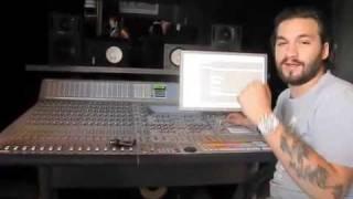 A-Trak visits Steve Angello in the studio making klezmer