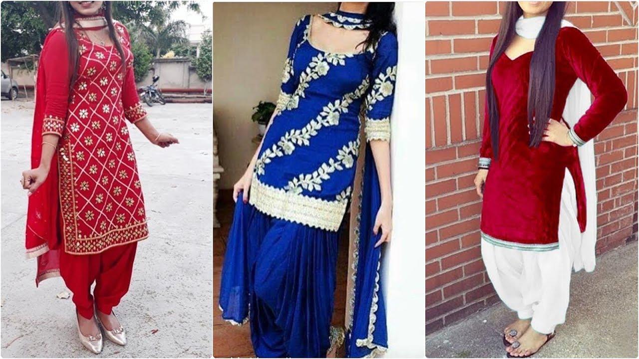 latest punjabi suit designs for girls youtube