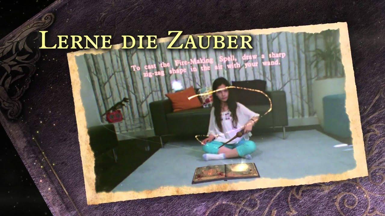 wonderbook - das buch der zaubersprüche (deutsch) - youtube