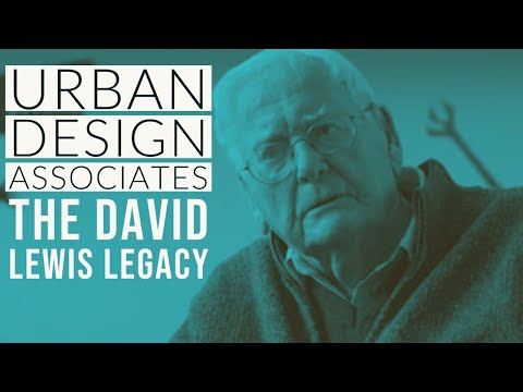 Urban Design Associates: The David Lewis Legacy