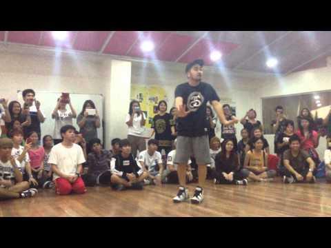 141206 DANGER Choreography by BTS Choreographer Mr. Son (TRBinManila)