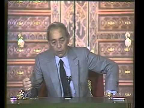 Marrakech 14/01/1986 : Feu Hassan II et les Architectes du Maroc