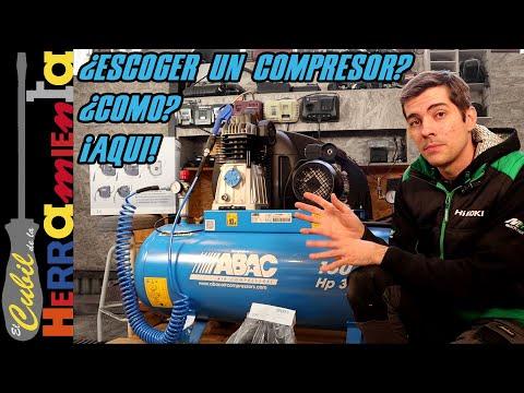 Aprende a  elegir un compresor para vuestro taller