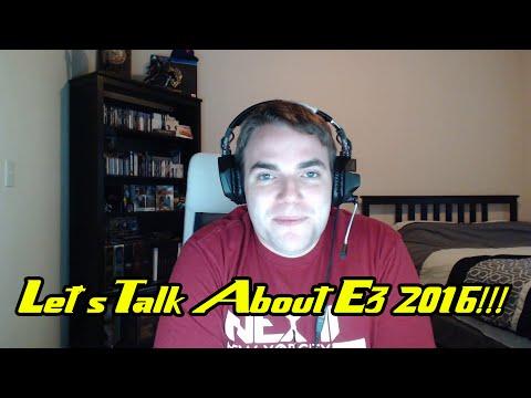 A Brief History of PS4 & XB1 E3 Press Conferences + E3 2016 Discussion
