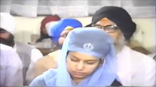 Bibi Baljit Kaur Khalsa Kirtan - 1989