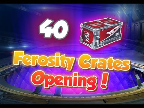 Открываю 40 *НОВЫХ* Ferosity Crates | Rocket League thumbnail