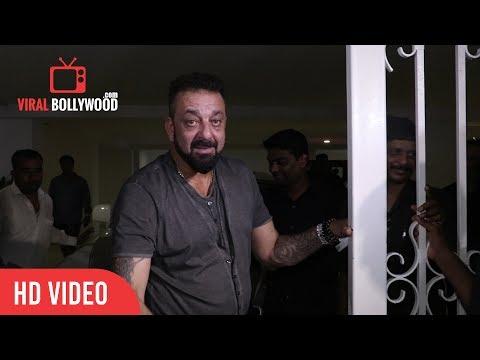 Sanjay Dutt BABA At Karan Johar Birthday Grand Party