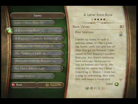 Fable 2 A Letter From Rose