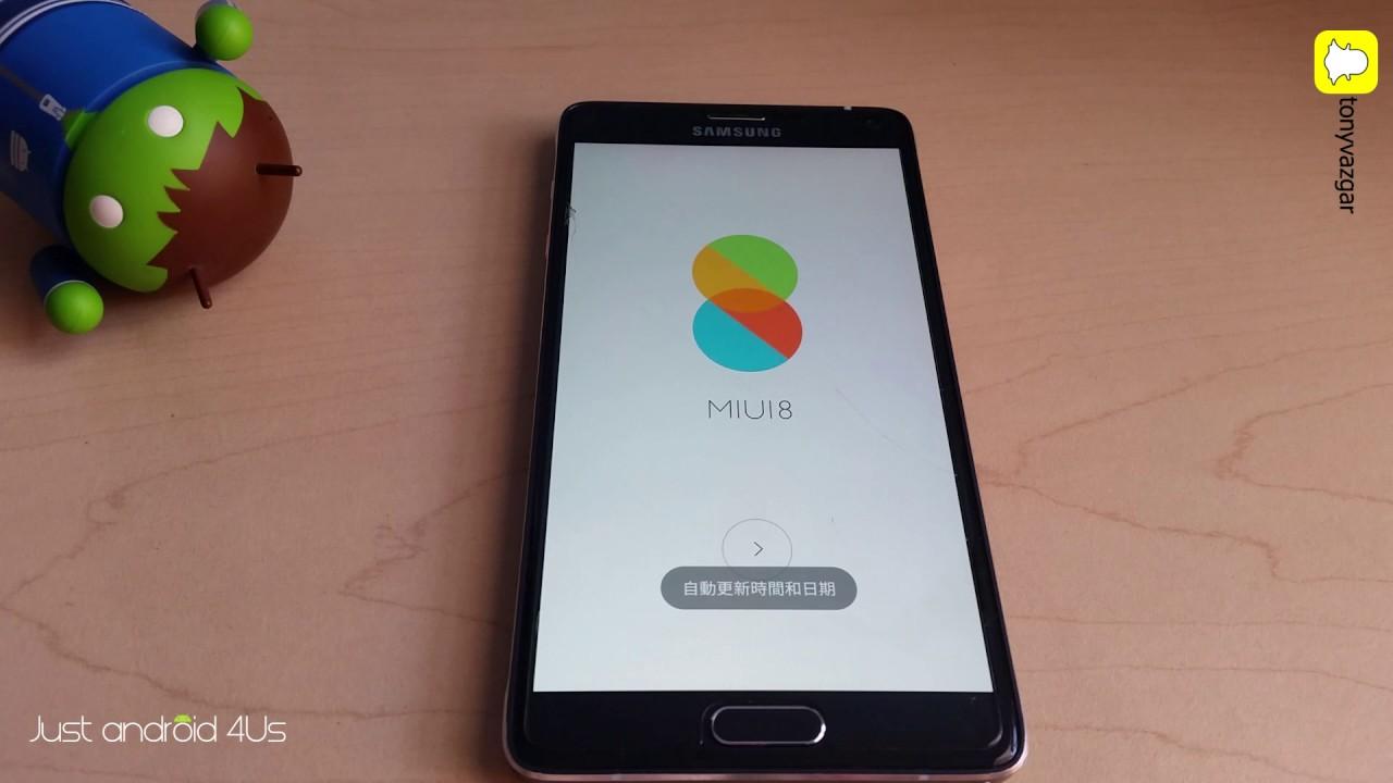 Instalar MIUI 8 Galaxy Note 4 (Exynos) :D - JustTech4Us