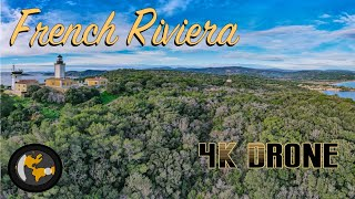 CAP CAMARAT & LIGHTHOUSE 4k| Coastal Trails from Above | St Tropez day trip | Planetlenz