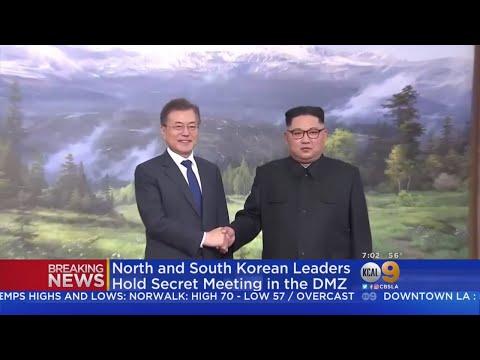 North, South Korean Leaders Meet To Discuss U.S.-North Korean Summit