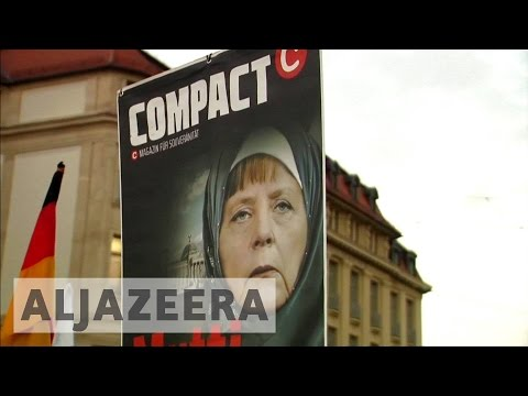 German nationalists divided over ideology amid protests
