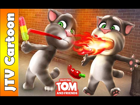 [HD 2017] Talking Tom Cat FUNNY VIDEOS Compilation | JTV Cartoon Games Kids