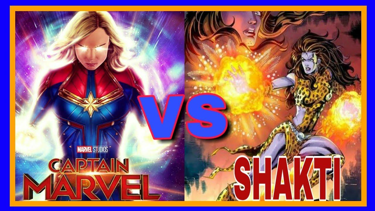 Captain Marvel vs Shakti || who is more powerful || Raj Comics vs Marvel  comics