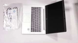 Unboxing hands on HP Laptop EliteBook 830 G5