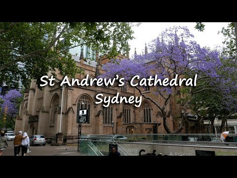 St Andrew's, The Oldest Cathedral | Sydney, Australia | Traveller Passport