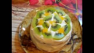 16.Сметанник. Рецепт пирога на сметане.