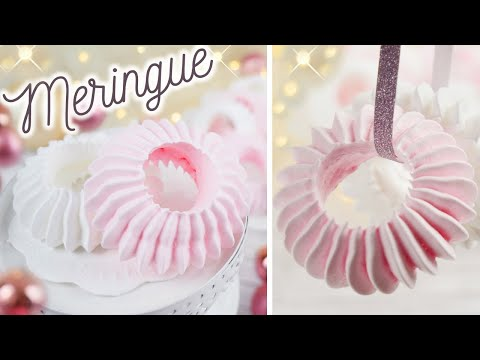 Baiser Grundrezept | Meringue Cookies Recipe