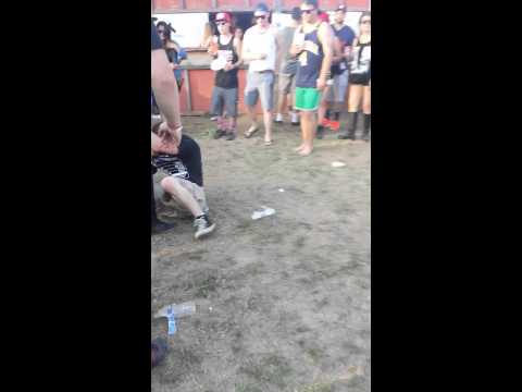 Fight at Higher grounds music Festival 420