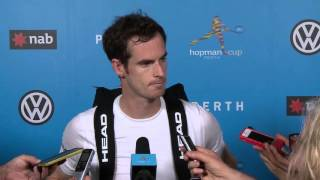Andy Murray press conference (RR)