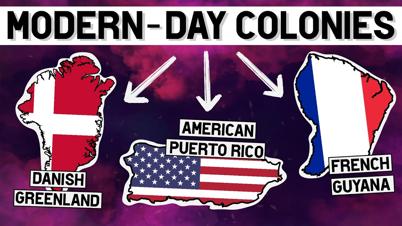 Download Which Countries Still Have Colonies TODAY?