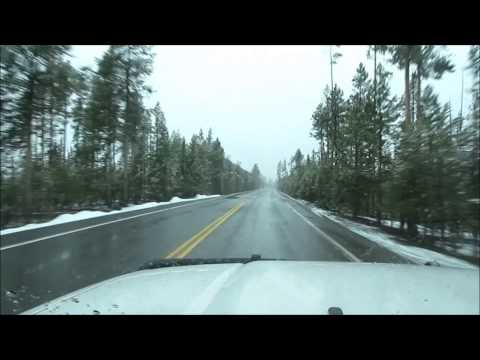 Yellowstone National Park in early May - random views from a 4Runner