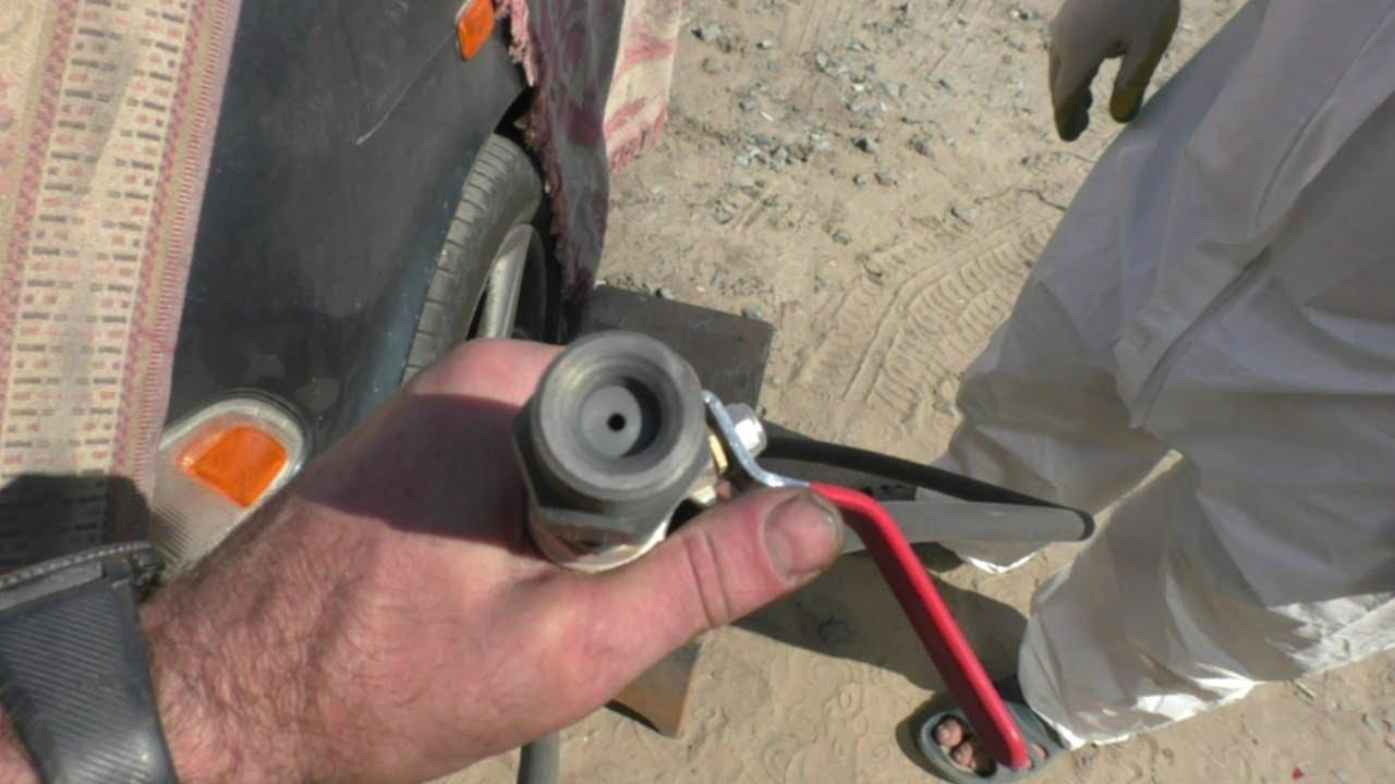 Тест нового сопла для пескоструя, ремонт подвески на форде, мойка двигателя.Безработица в Бибирусии!