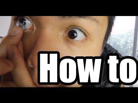 HOW TO PUT IN CONTACTS FOR COMPLETE BEGINNERS TIPS & TRICKS TUTORIAL
