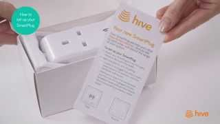Hive - How to set up your SmartPlug