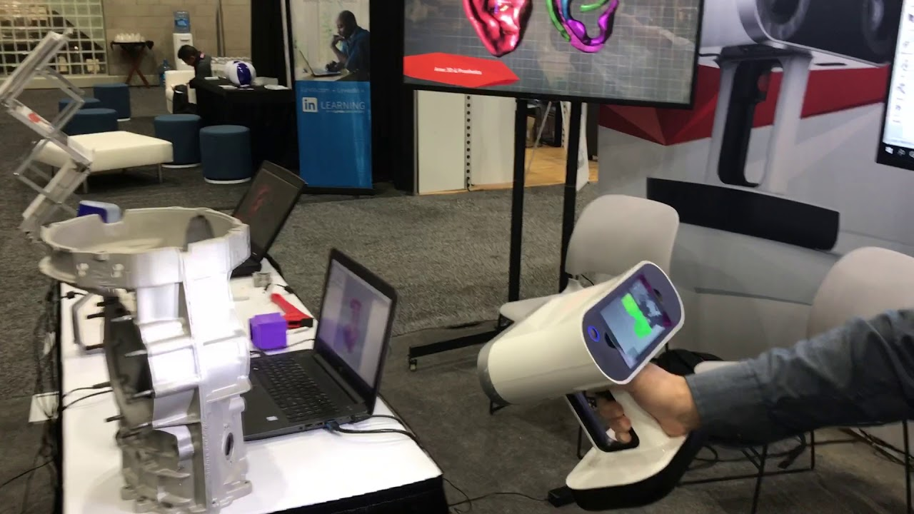 Artec Leo 3D Scanner at SolidWorks World 2018