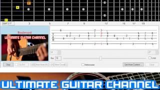 [Guitar Solo Tab] Boulevard (Dan Byrd)