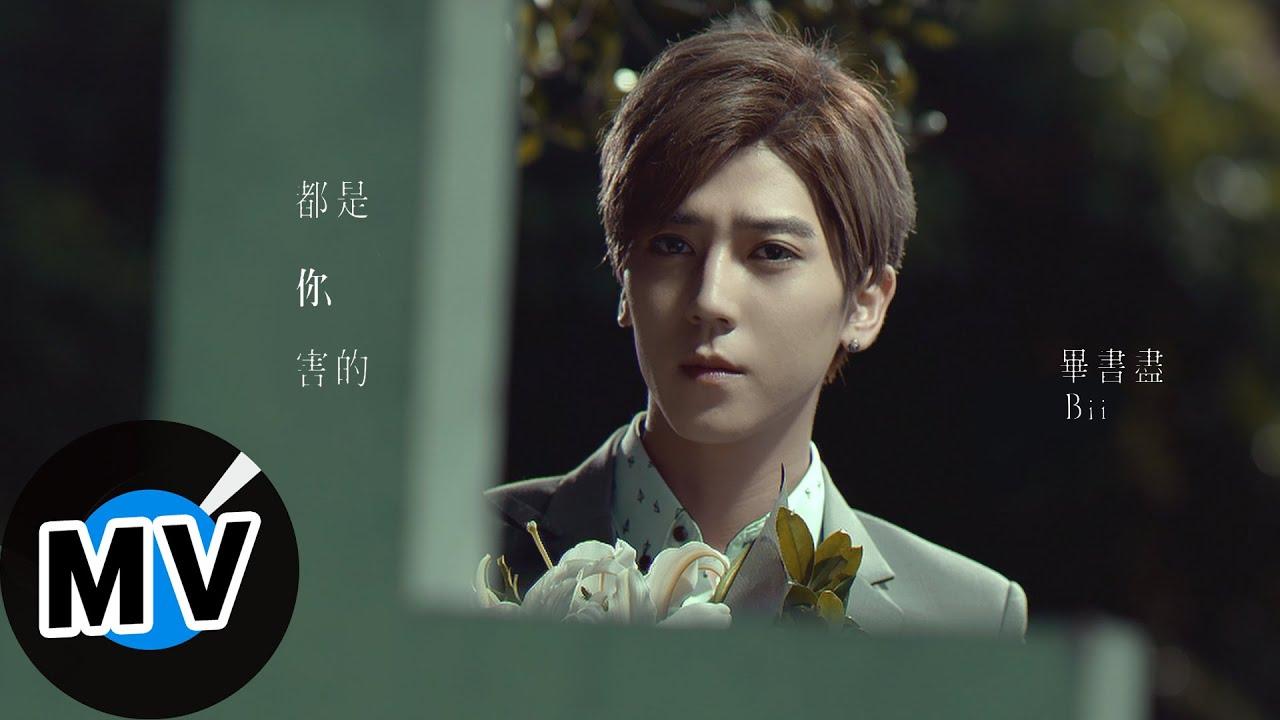 畢書盡 Bii - 都是你害的 All You Did (官方版MV) - 華劇「我的極品男友」片尾曲