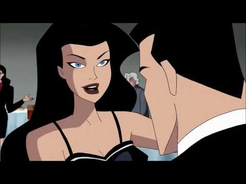 BATMAN & Wonder Woman Romantic Moments    Justice League & Justice League Unlimited TV Series