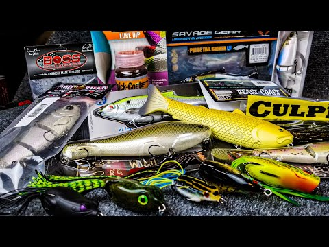 *NEW* Tackle Warehouse  Unboxing For 2020 | Frogs, Swimbaits, And MORE!