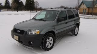 2005 Ford Escape XLT Start Up & Short Tour