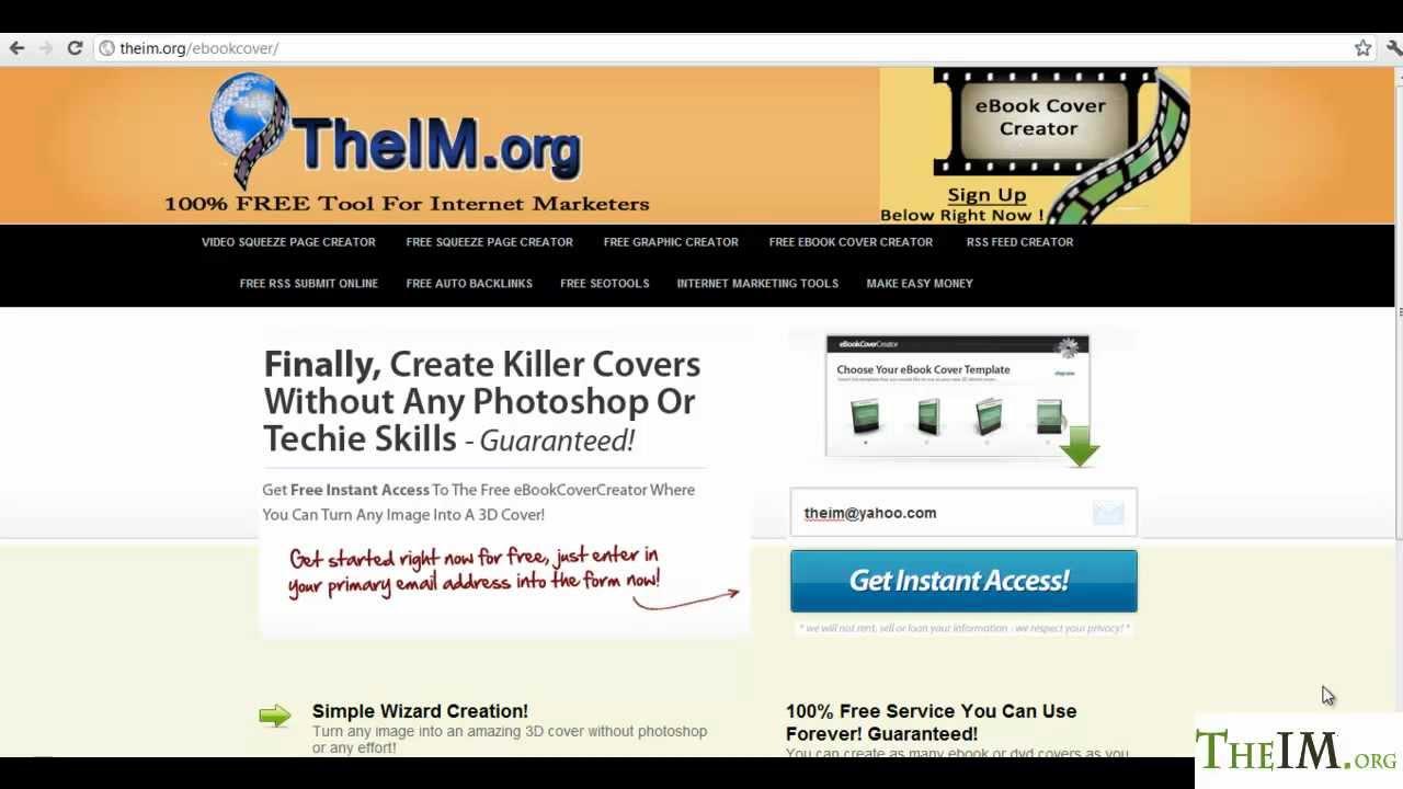 free ebook cover creator online in 2 mins