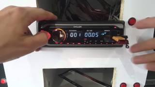 Автомагнітола Cyclon MP-1040G. Розпакування та огляд.
