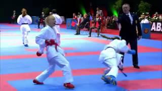 Top karatekas showing their abilities at Karate 1-Premier League in Rabat