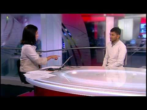 UNIVERSITY VISA BAN - LMU STUDENT INTV - BBC WORLD NEWS