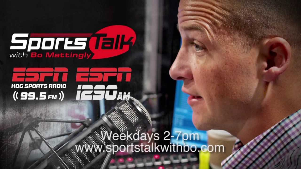 Image result for sports talk with bo mattingly