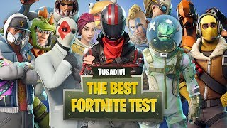 WHAT SKIN FROM FORTNITE ARE YOU? FIND OUT! - TEST tusadivi