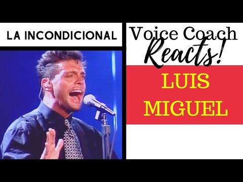 Voice Coach Reacts To Luis Miguel   FIRST HEARING   La Incondicional En Concierto