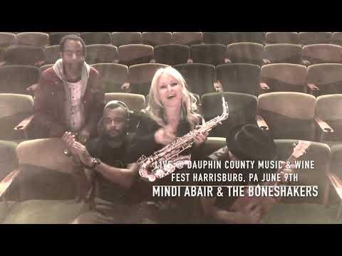 Mindi Abair & The Boneshakers LIVE @ Dauphin County Music & Wine Fest Harrisburg, PA June 9th
