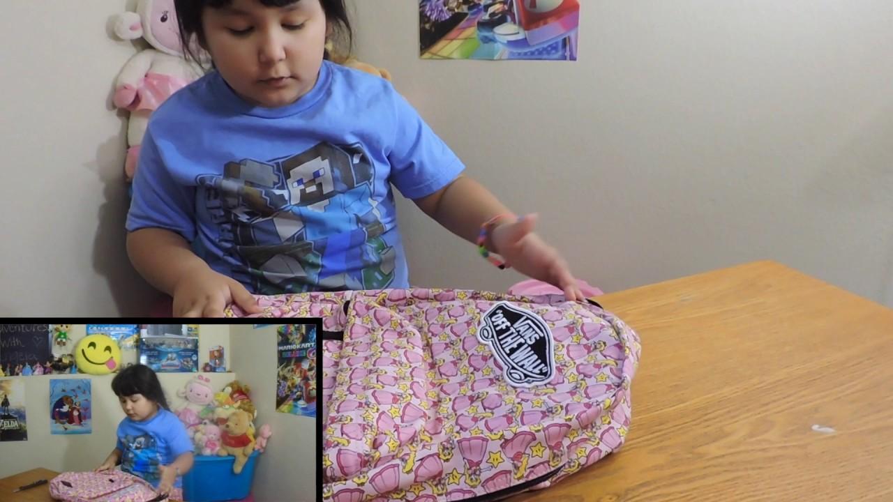 c657c10ad0fd VANS x NINTENDO princess peach backpack - YouTube