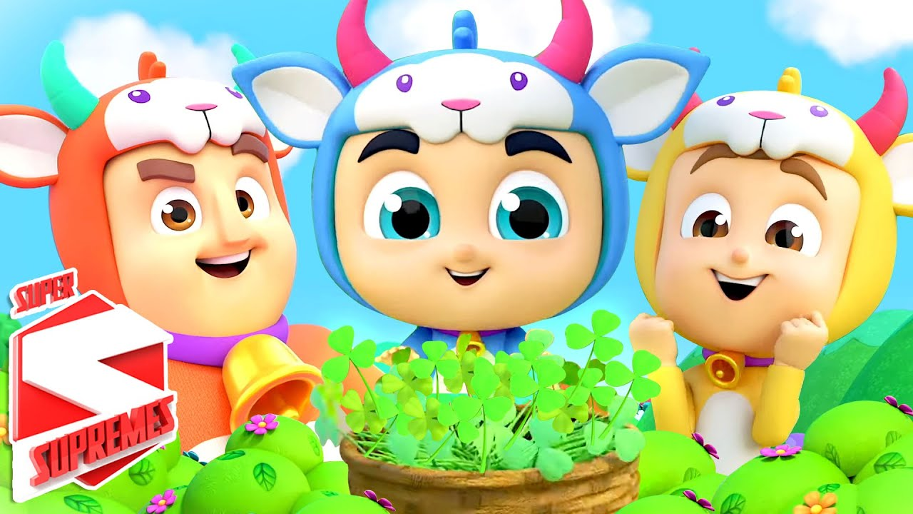 Three Billy Goats Gruff | Fairy Tales For Kids | Pretend Play Song | Nursery Rhymes and Baby Songs