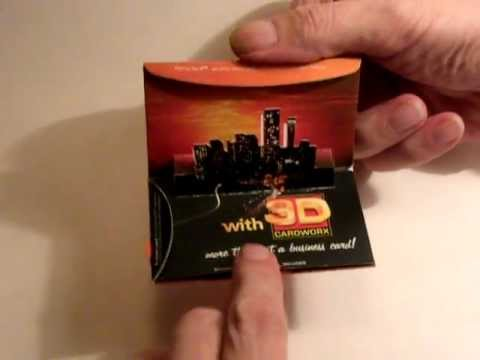 3d Popup Business Card With Leaflet 3dcardworxcoza
