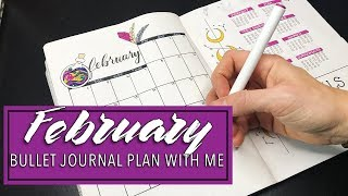 ✨ February 2019 ✨ Bullet Journal Plan With Me