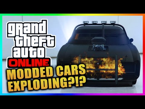 GTA 5 Online - RIP Duke O Death! RARE Modded Cars Destroyed In GTA Online (GTA V)