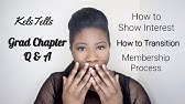 GRAD CHAPTERS VS COLLEGIATE CHAPTERS   NPHC ADVICE - YouTube